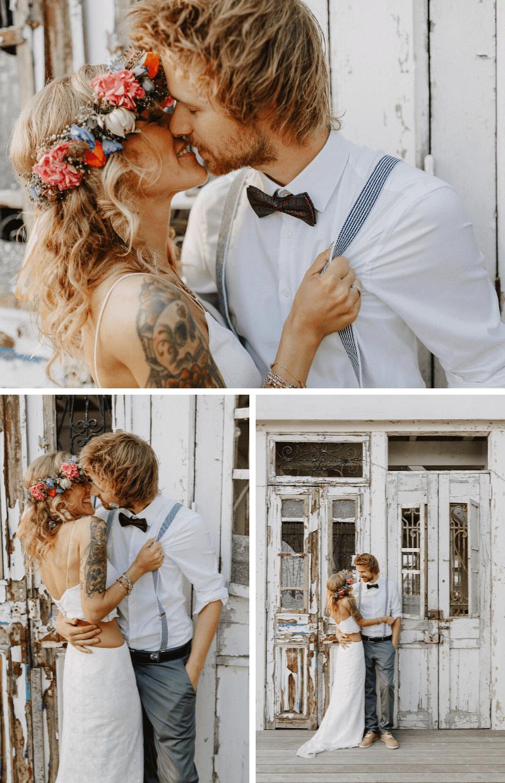 Boho Brautpaarshooting im Sommer