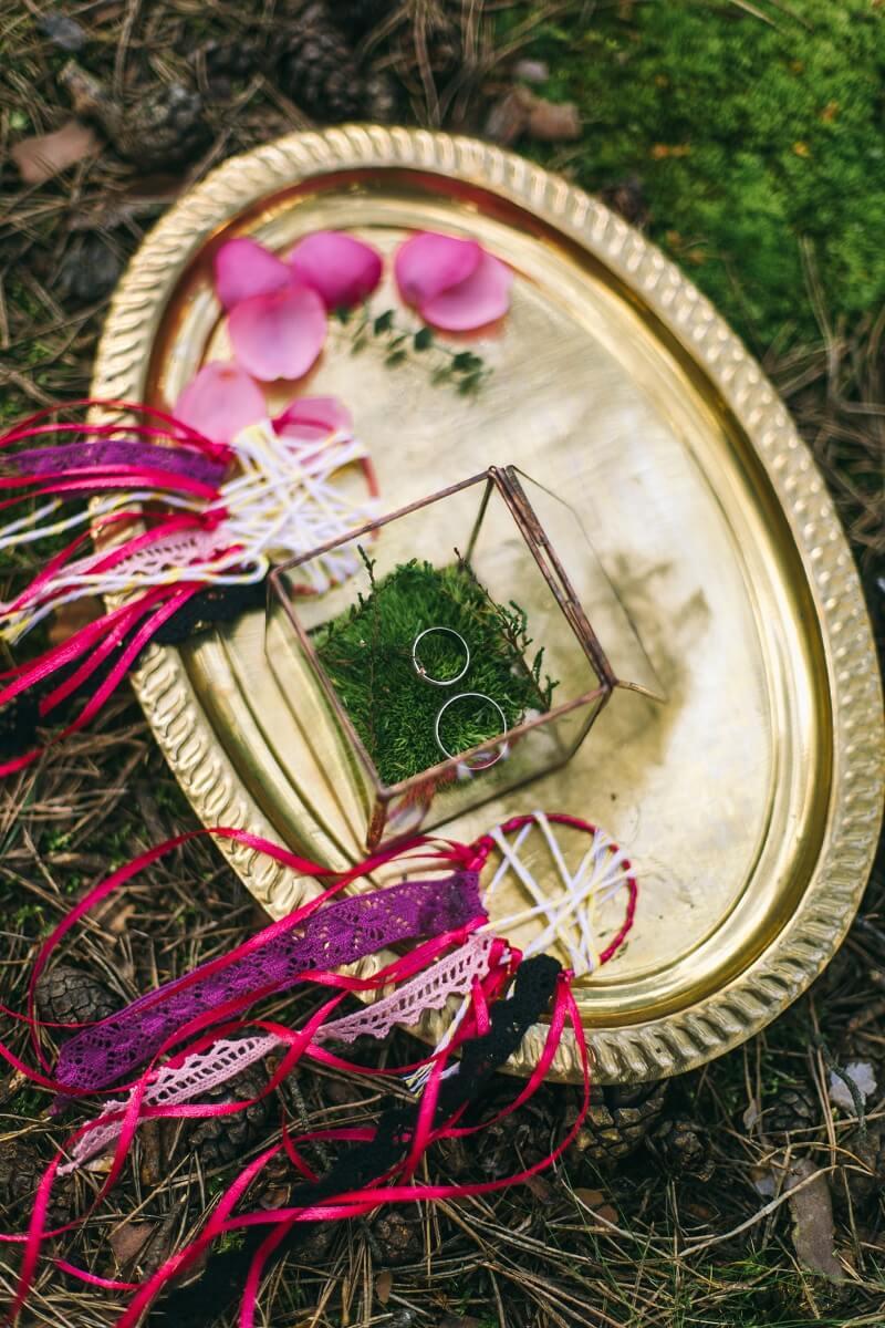 Boho Hochzeitsideen Fuchsia