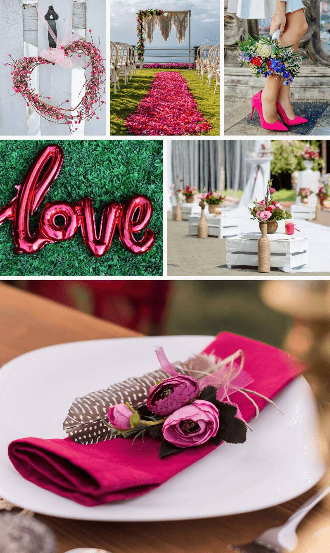 Hochzeit Fuchsia