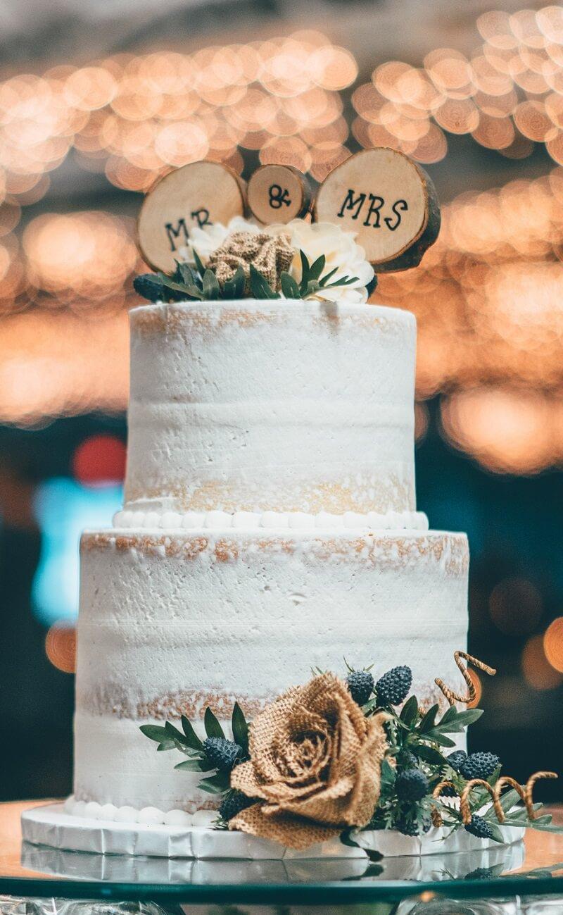 Naked Cake Ideen Hochzeit