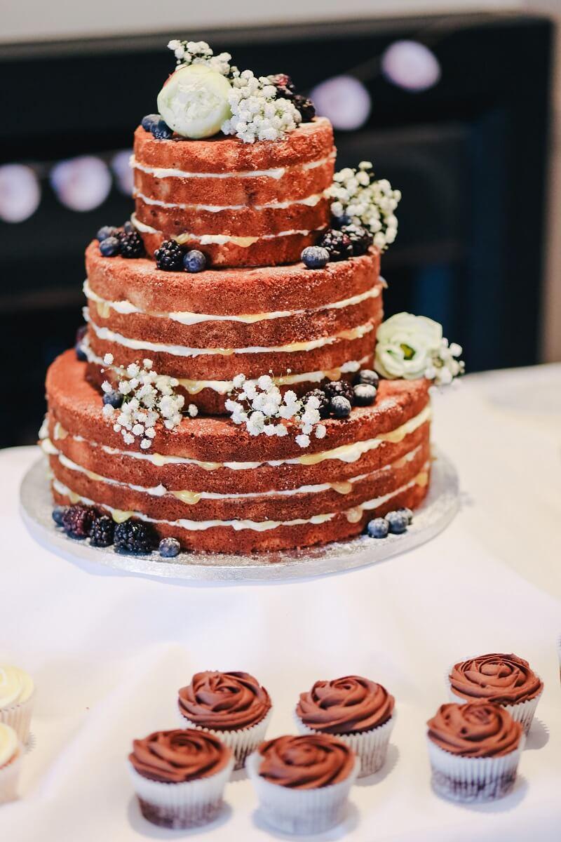 Naked Cake Hochzeit Ideen