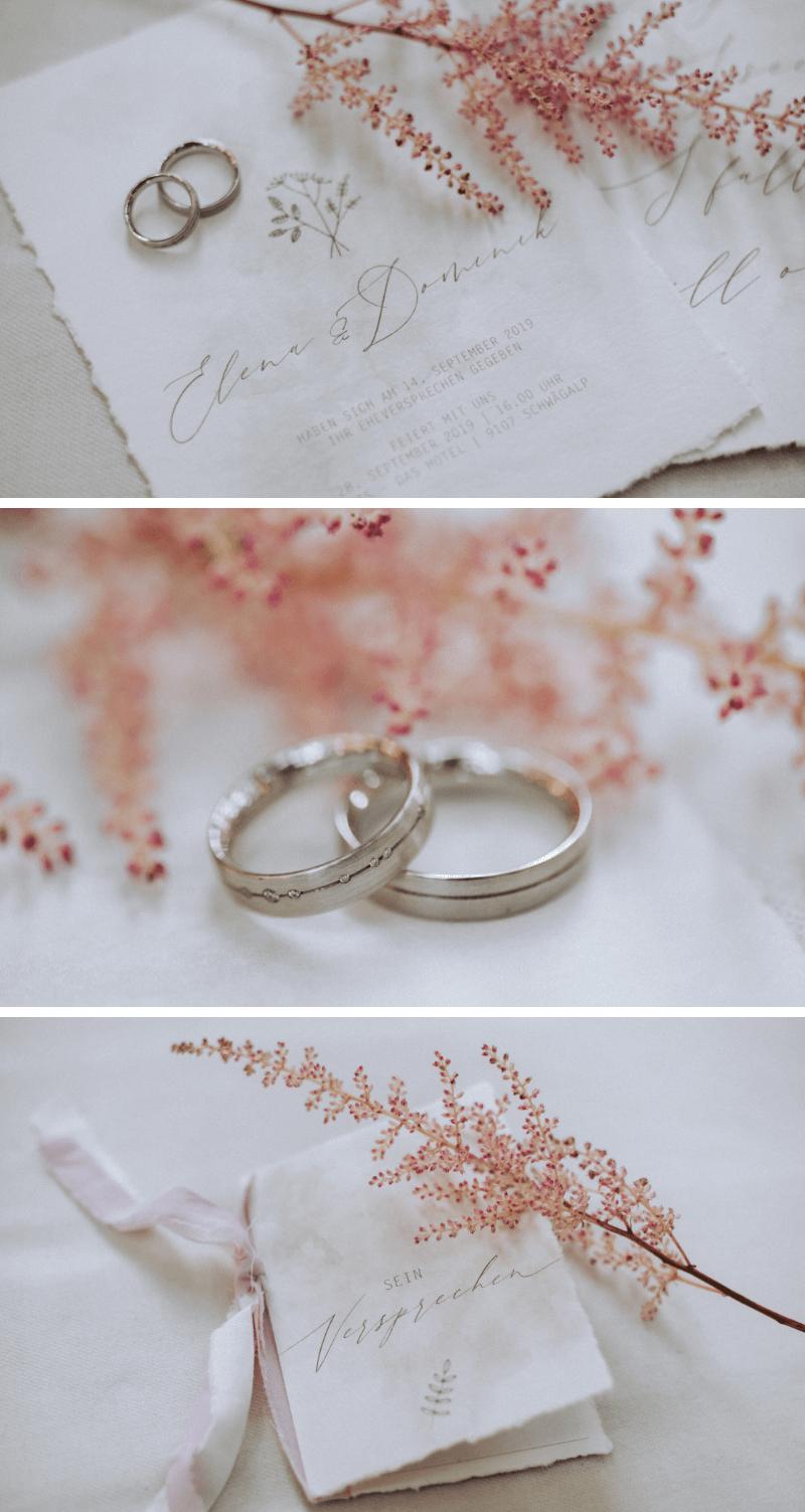 Hochzeit mit Astilben