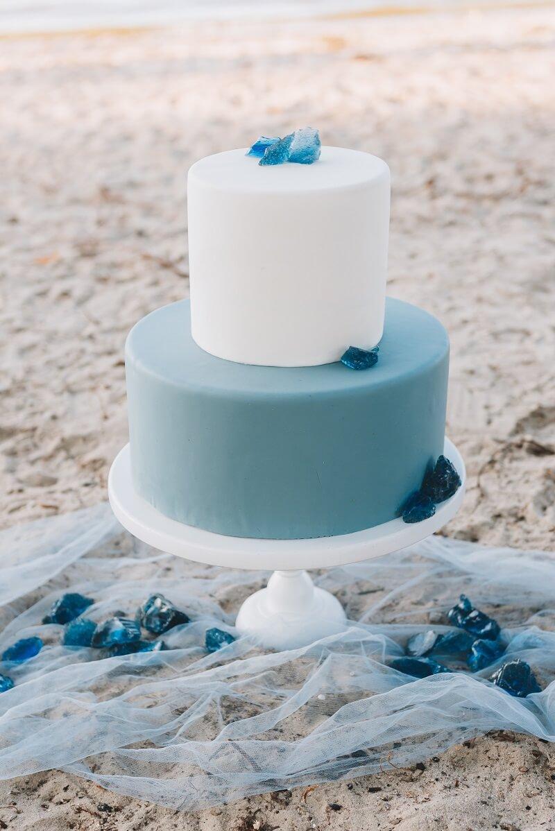 Torte Strandhochzeit