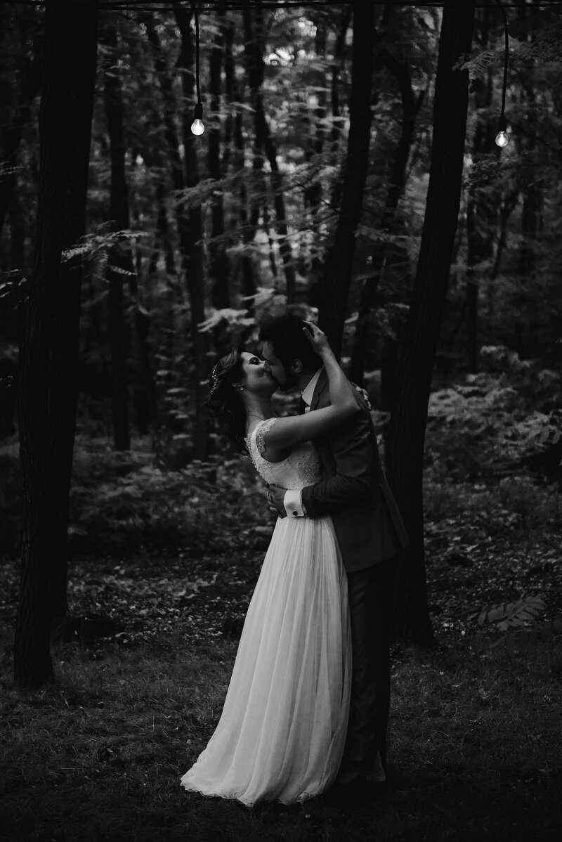 Dramatic Black Hochzeitsfotos