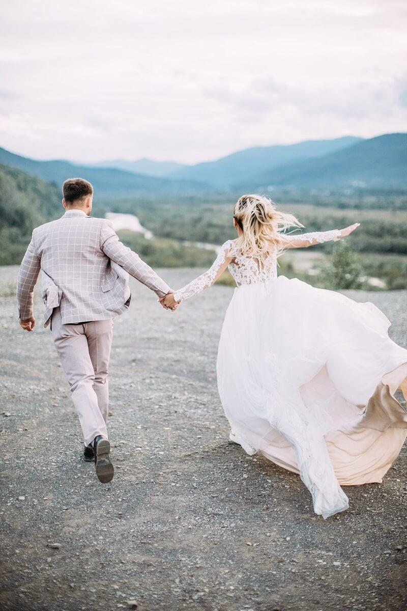 Brautpaar Shooting Ideen