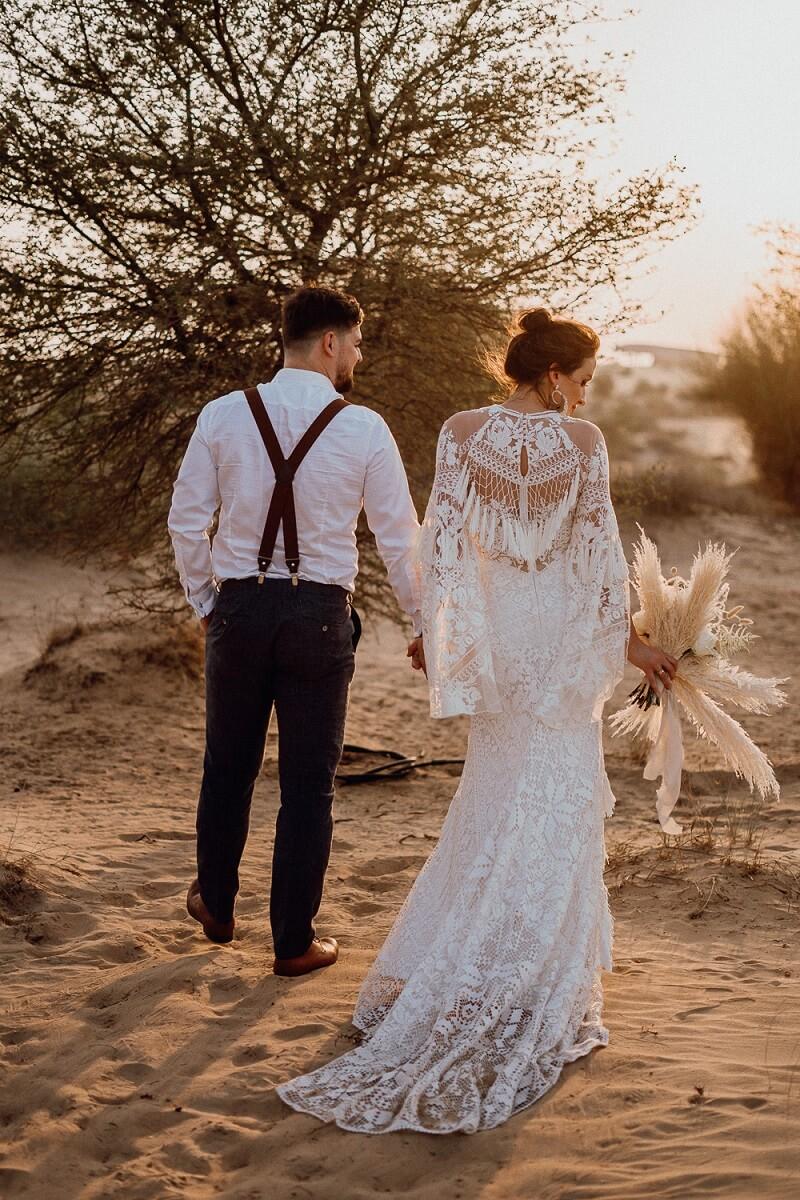 After Wedding Shooting Wüste