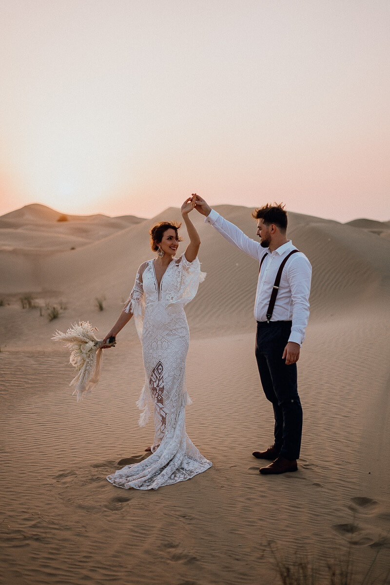 Brautpaarshooting Dubai
