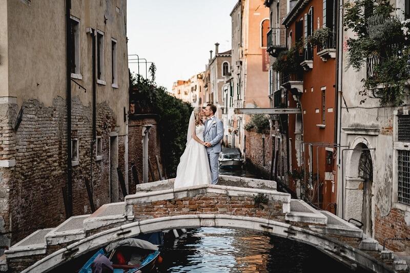 Hochzeitsshooting in Venedig