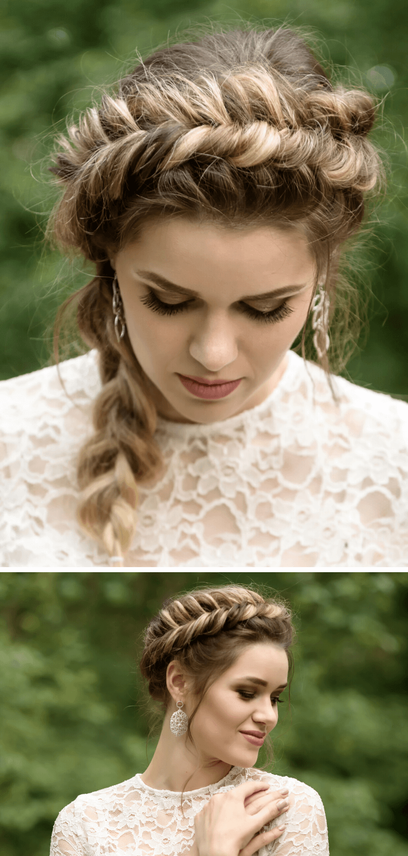 Brautfrisur Braid