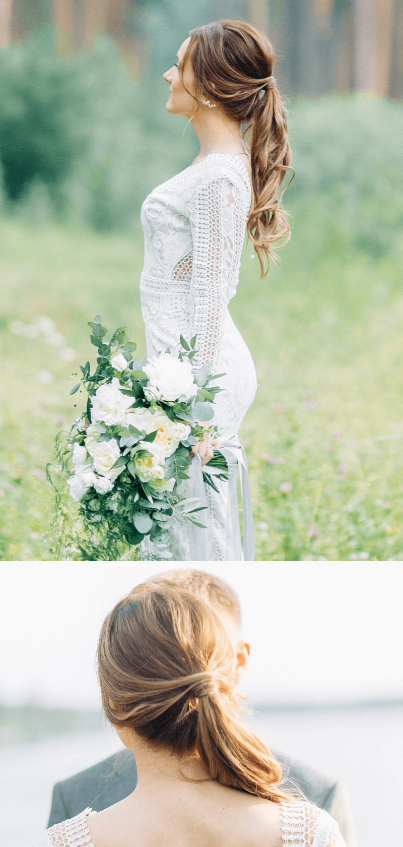 Brautfrisur Pferdeschwanz