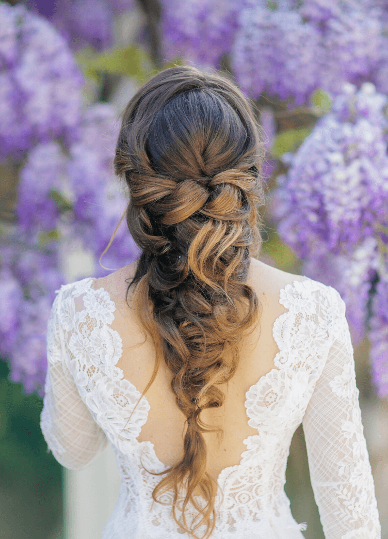 Brautfrisur Mermaid Braid