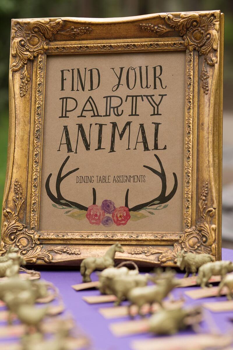 Hochzeitsideen mit Tieren