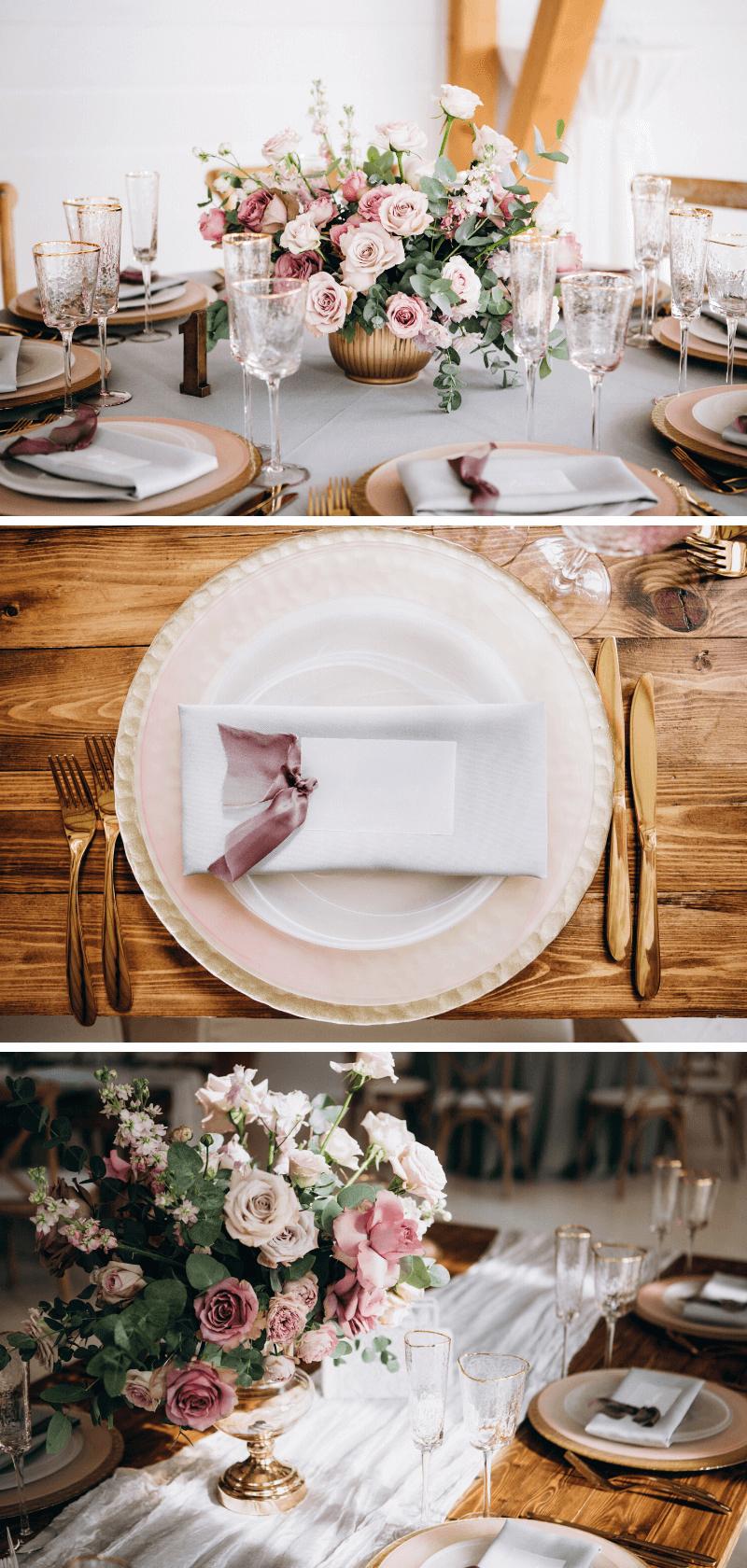 Blumen Tischdeko Hochzeit
