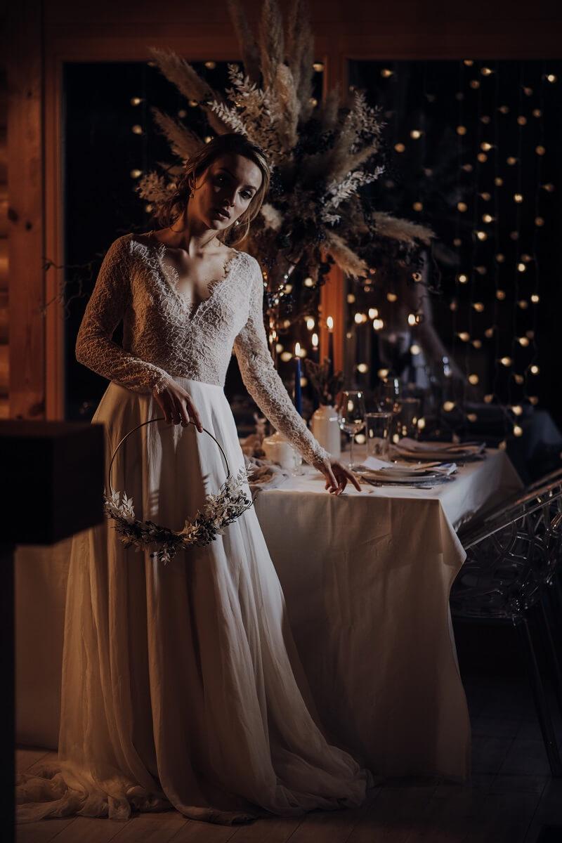 Winterbraut, Winter Hochzeitsdeko