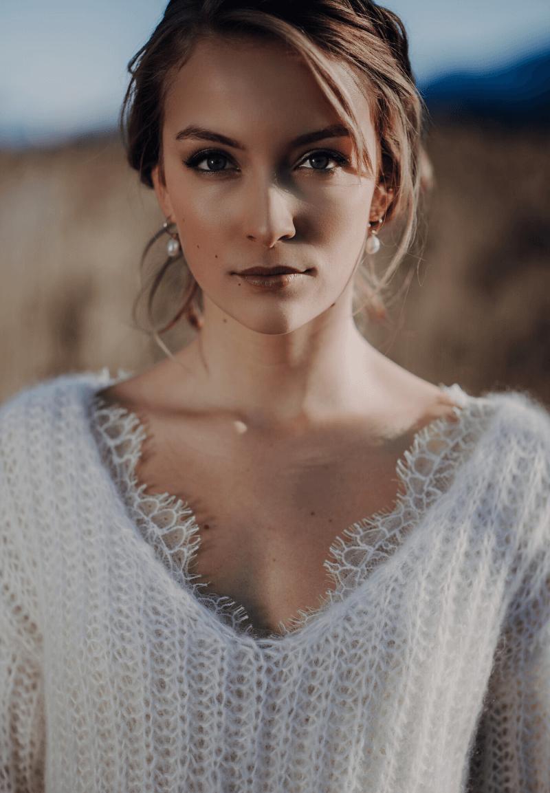 Winter Braut, Winterhochzeit Brautstyling