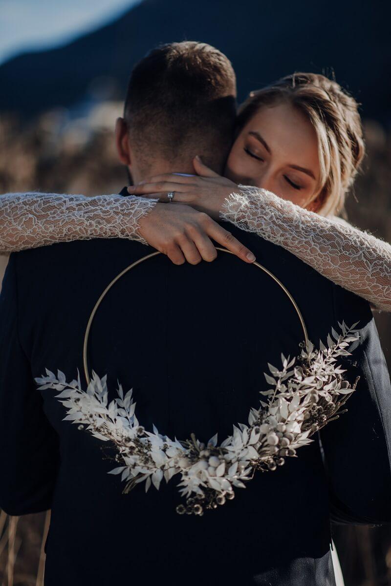 Brautstrauß Reifen, Wedding Hoop