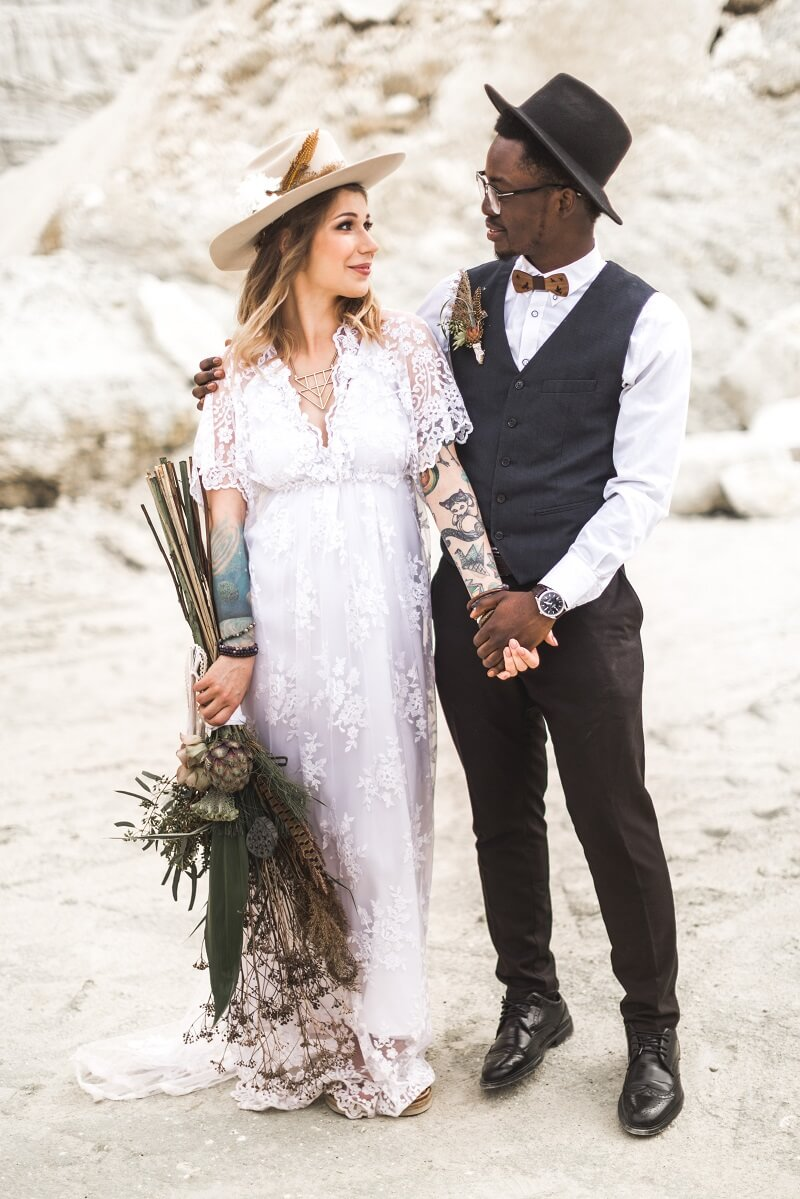 Boho Hochzeitsanzug