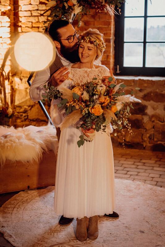 Boho meets Rustic Hochzeit