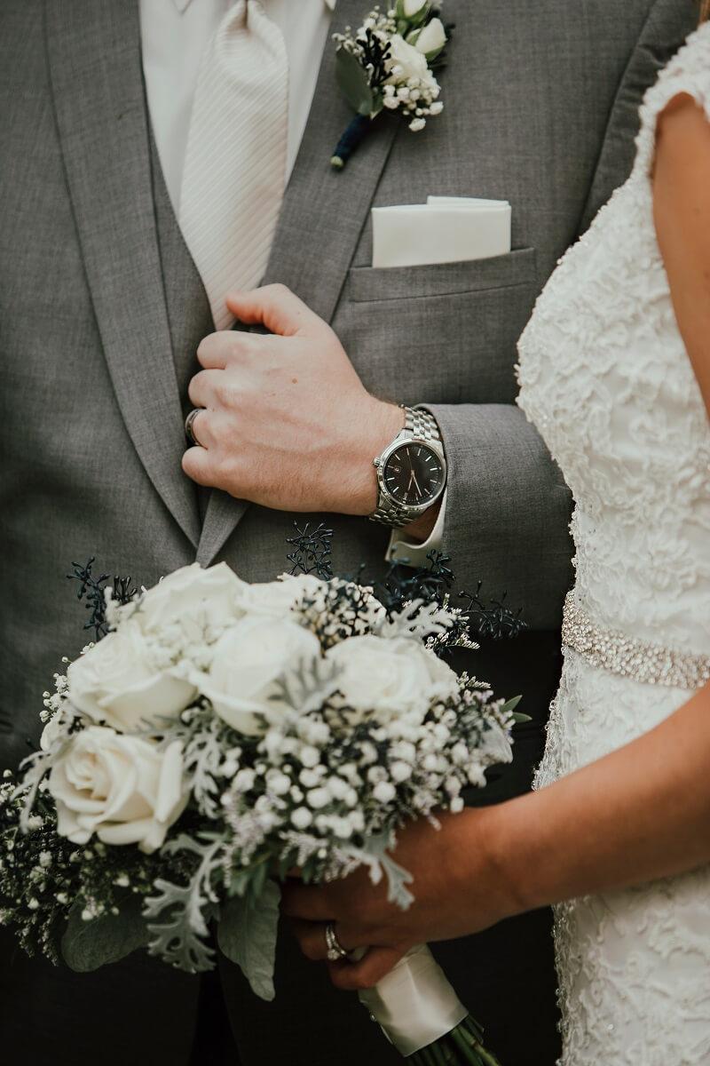 Uhren zur Hochzeit, Bräutigam Uhr