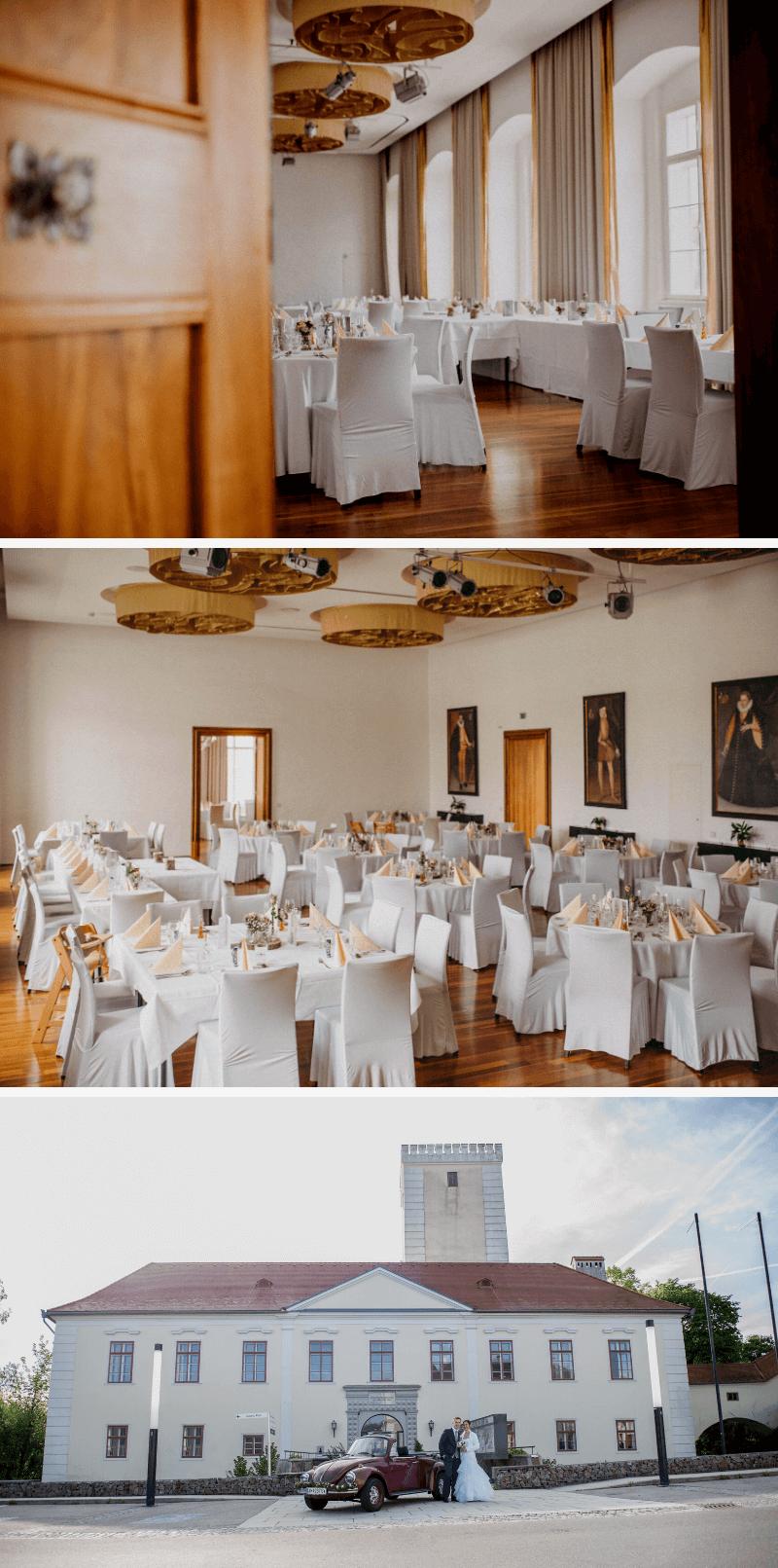 Hochzeitslocation ohne Catering Österreich, Schloss St. Peter