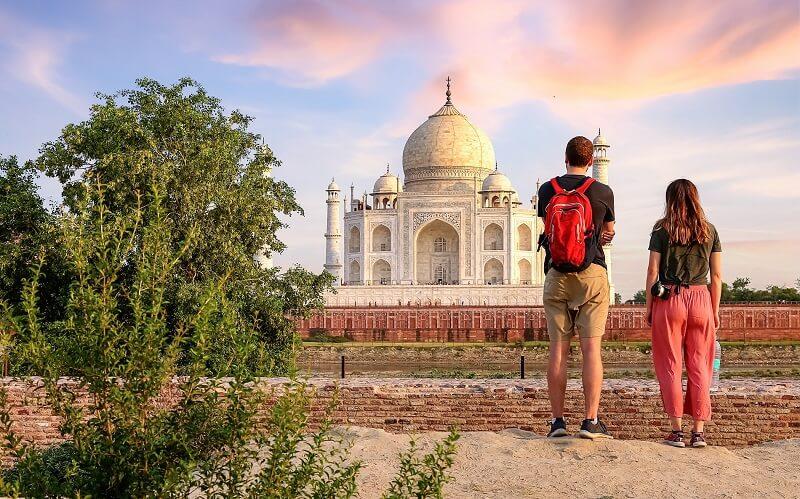 Flitterwochen Indien, Taj Mahal