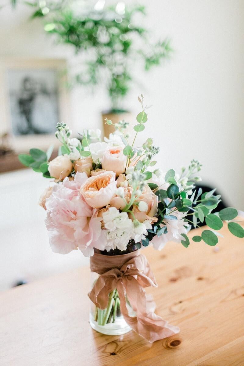 Hochzeit Tischdeko mit Stoffen