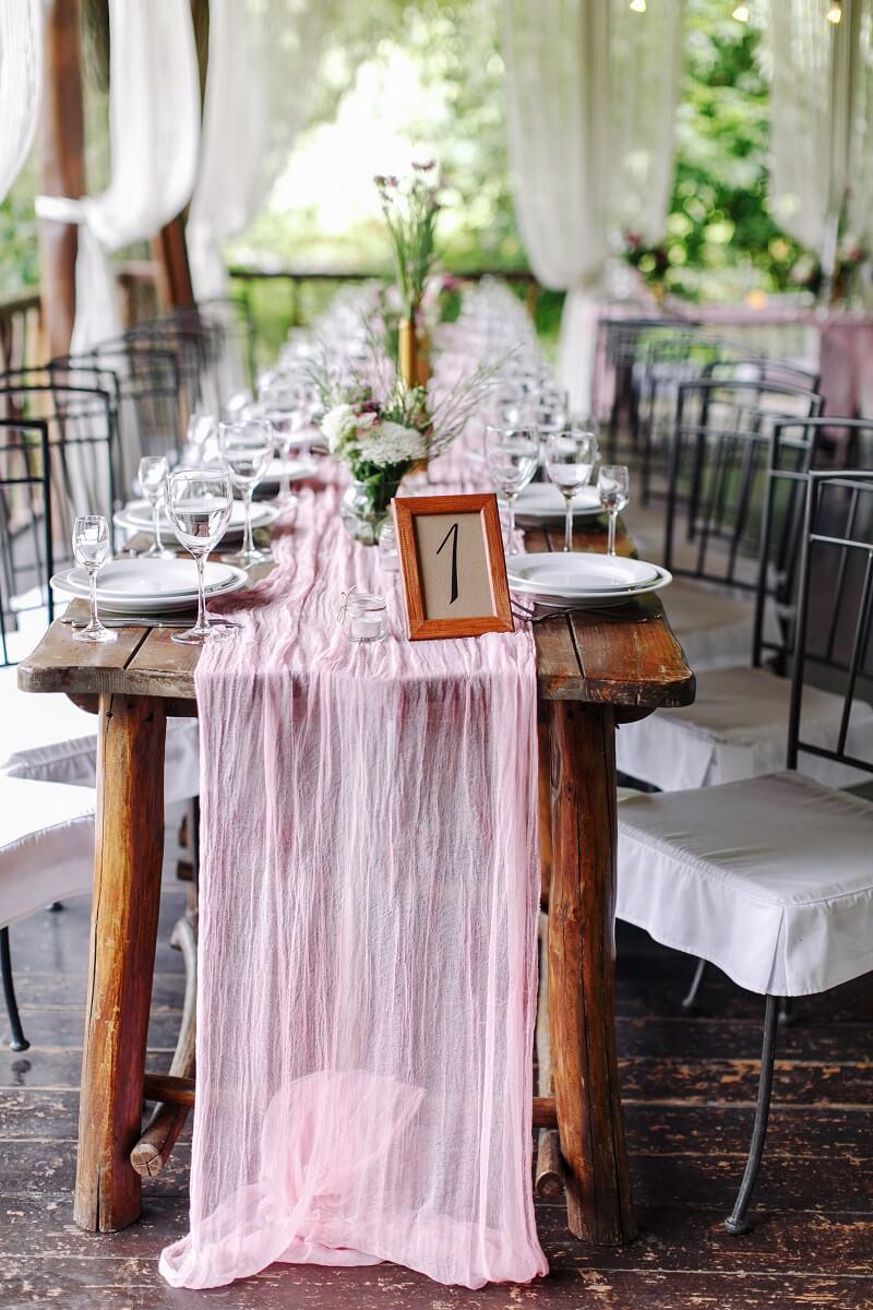 Tischläufer Hochzeitsdeko