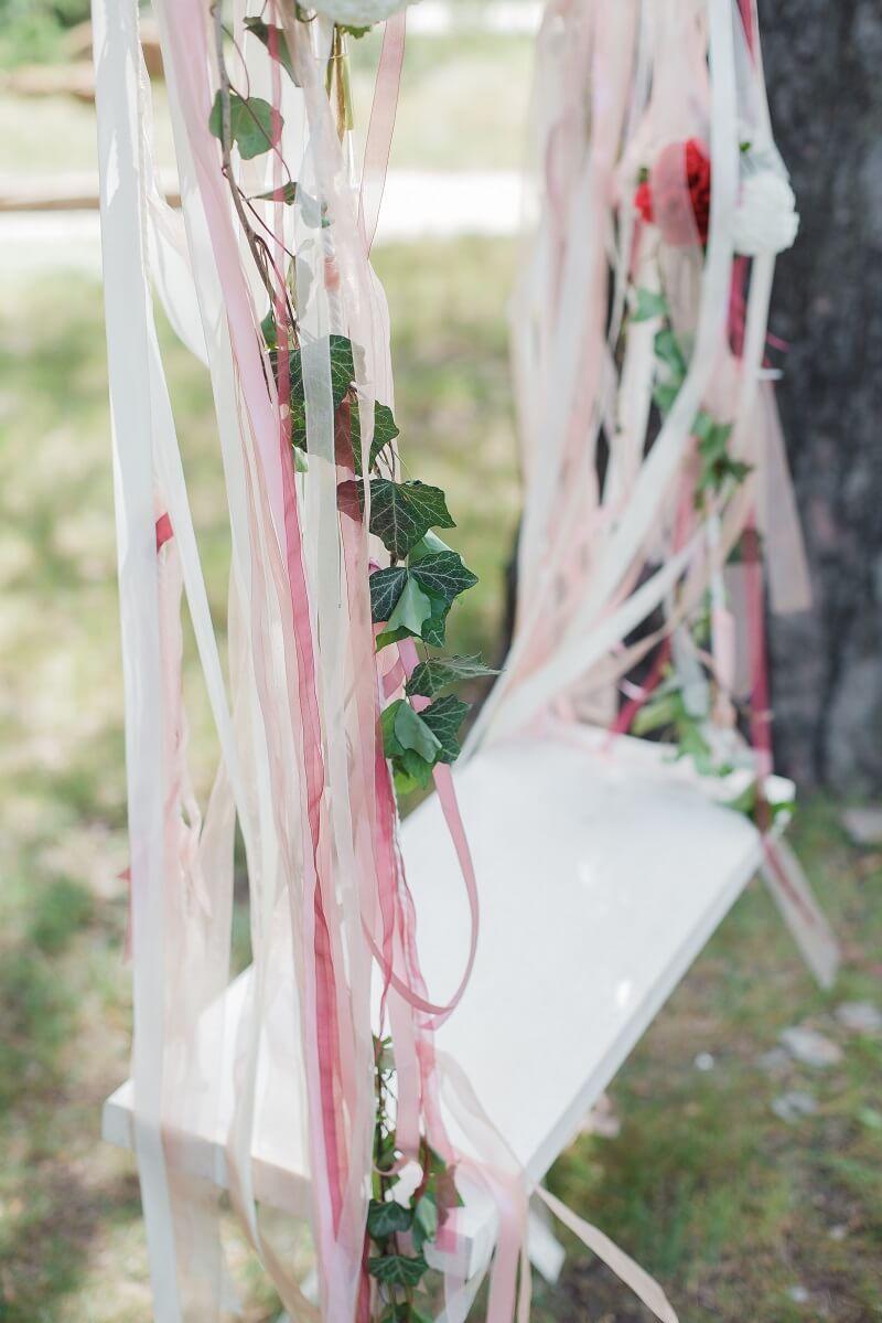 Hochzeit Schaukel