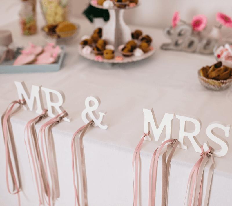 kreative Hochzeitsdeko Candybar