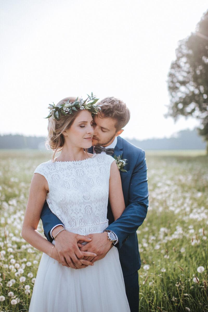 Romantische Und Schone Nach Der Hochzeit Paarshooting In Bremen