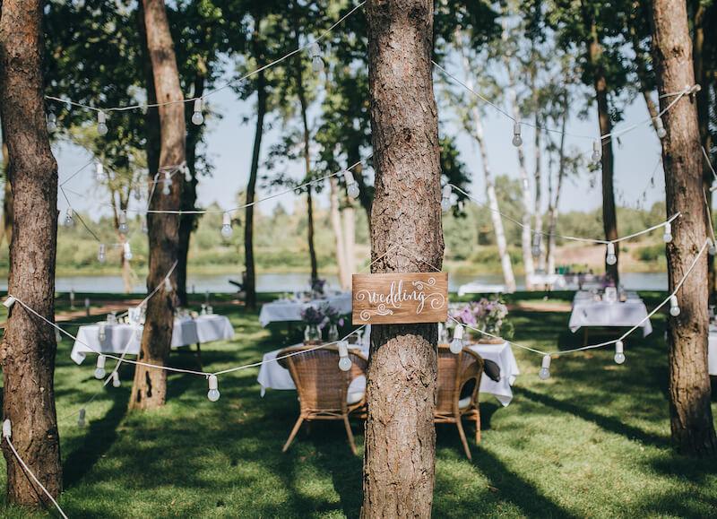 Hochzeit im Freien Tipps