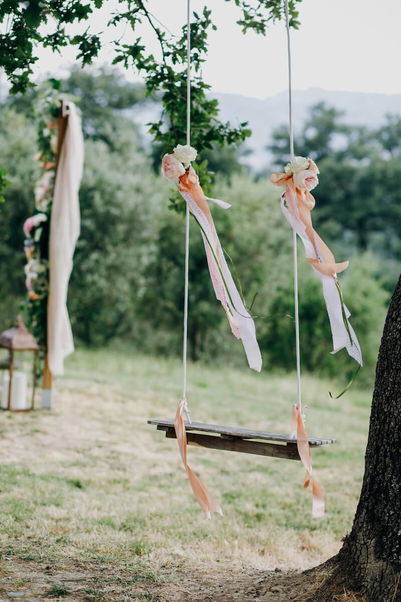 Hochzeitsschaukel