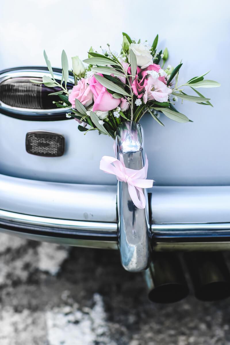 Autoschmuck Ideen Hochzeit