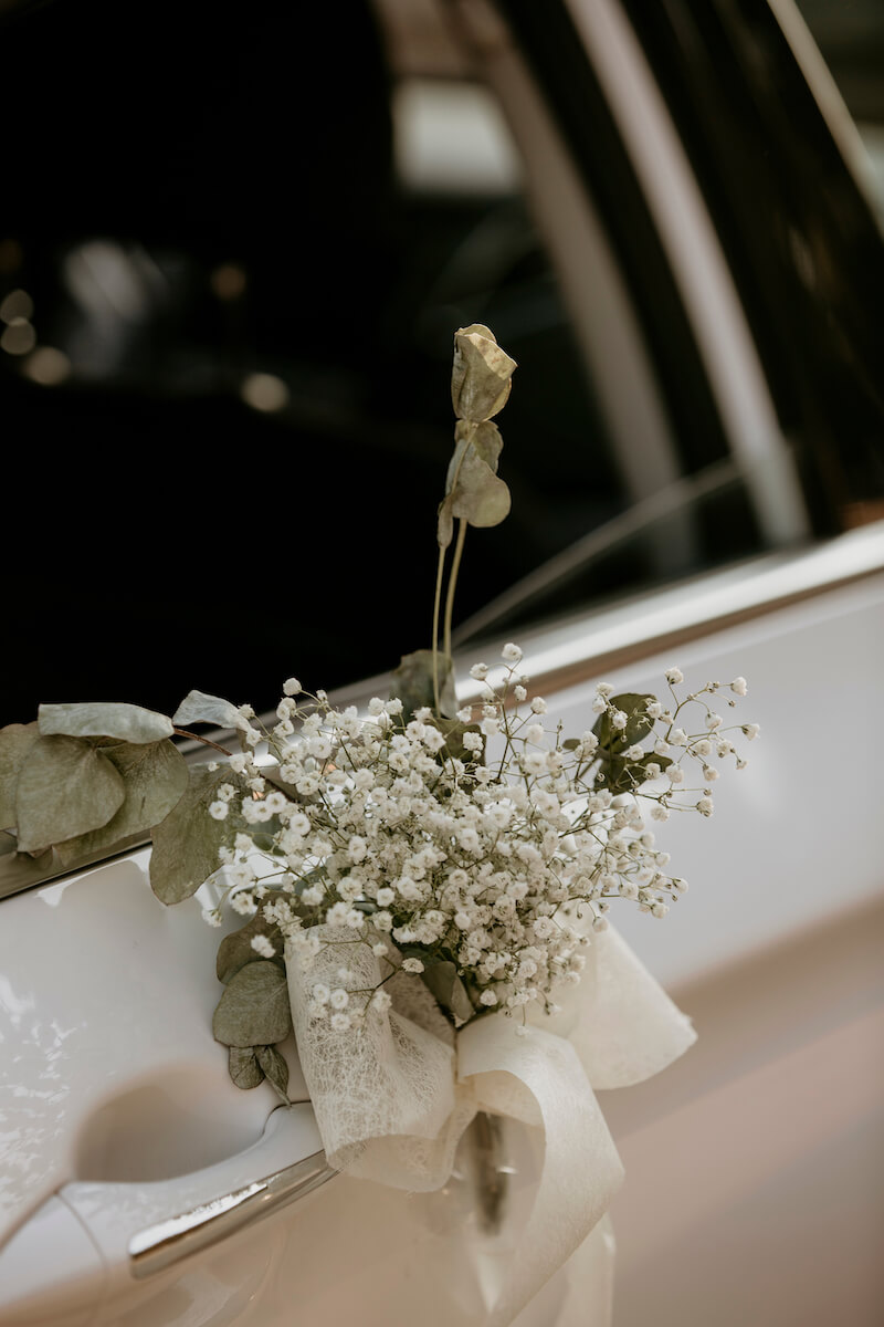Dekoration Hochzeitsauto