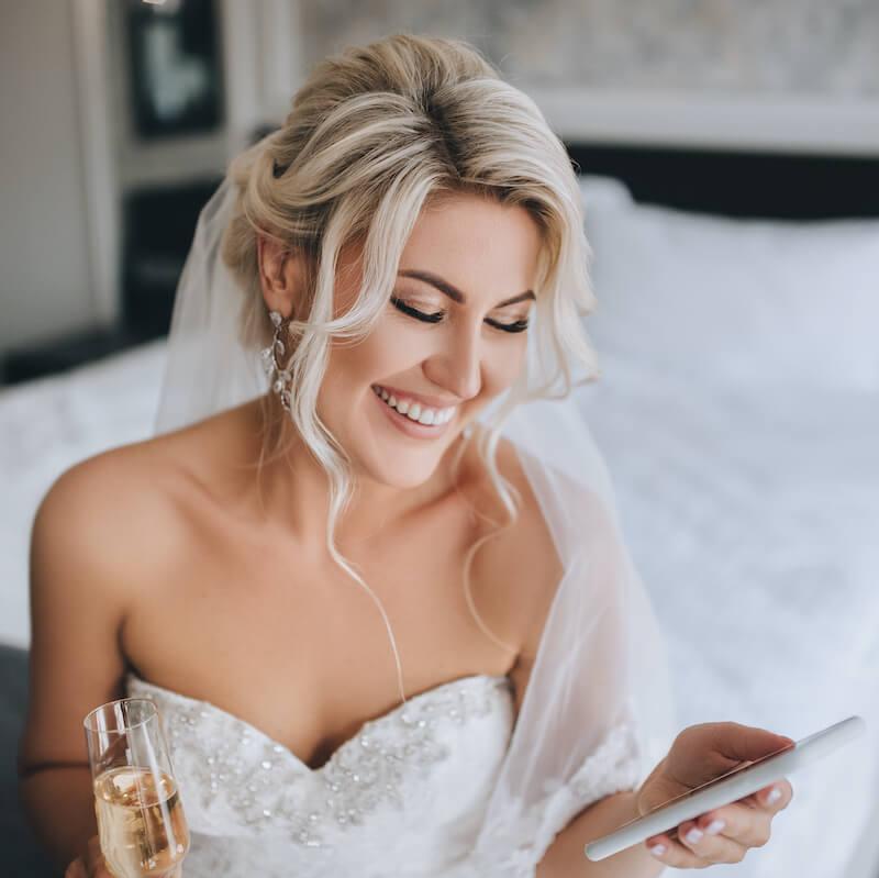 Online Glückwünsche zur Hochzeit