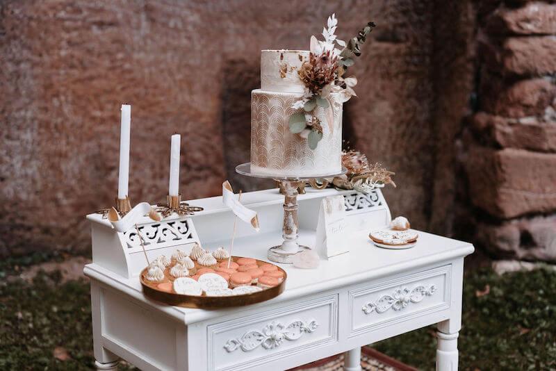 Boho Vintage Sweet Table
