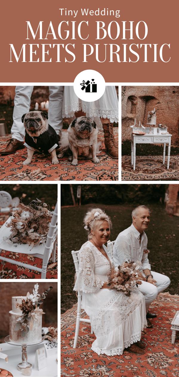 Tiny Boho Wedding
