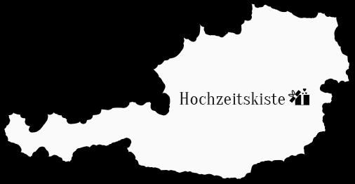 Die Hochzeitskiste startet in Österreich