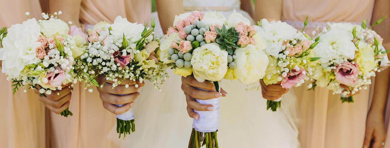 Hochzeitsdeko, Hochzeitsblumen, Hochzeit Florist, Hochzeitsfloristik