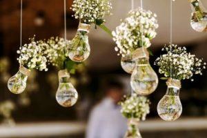 hochzeitsdeko DIY, DIY Hochzeit, hochzeitsdeko glühbirnen