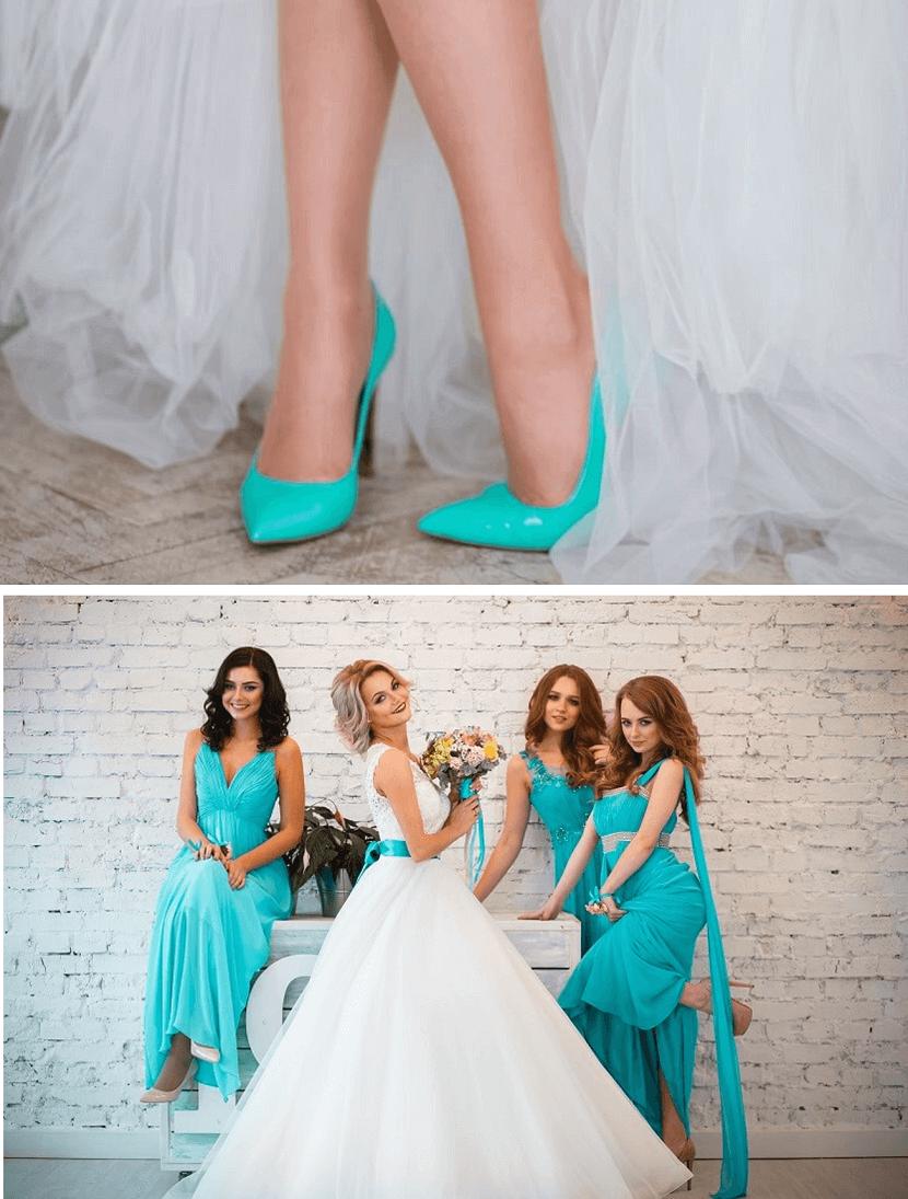 Hochzeit Mit Farbigen Akzenten Hochzeitskiste