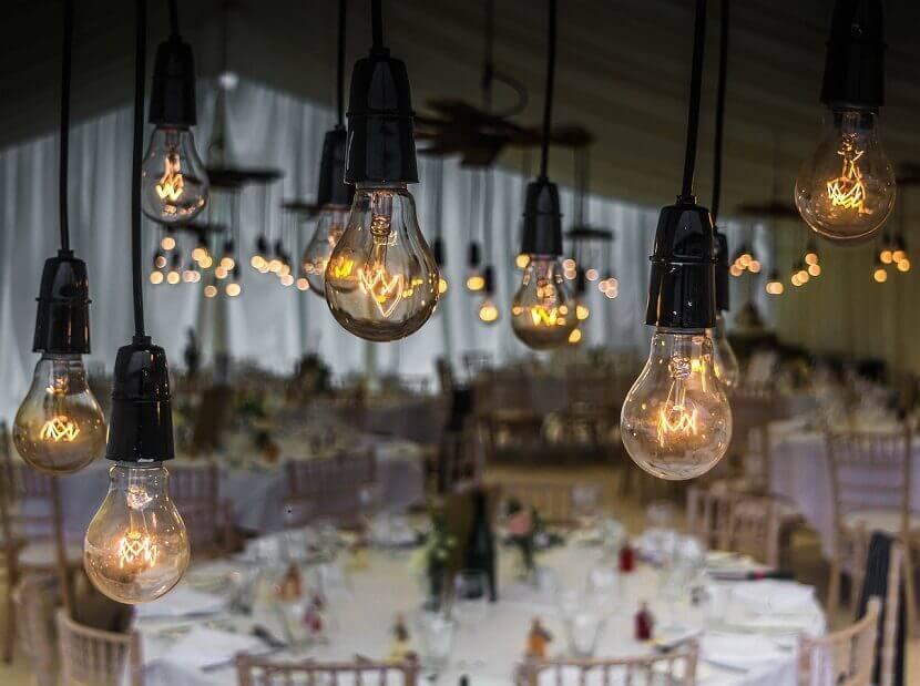 Trendige Lichterdeko Fur Die Hochzeit Hochzeitskiste
