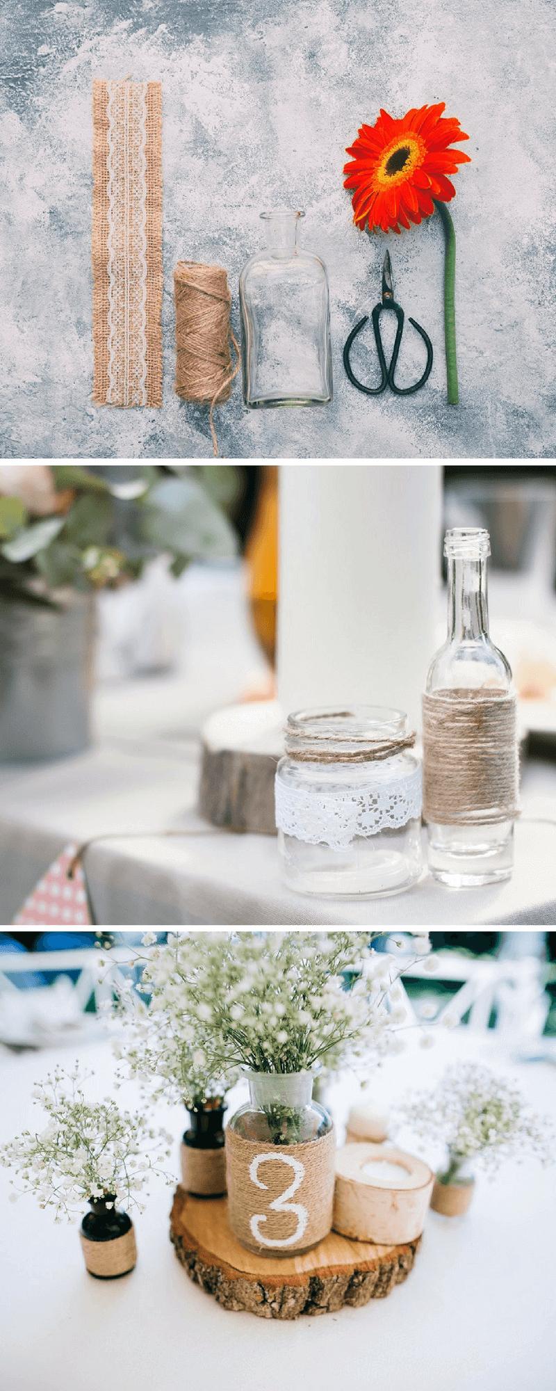 Hochzeitsdeko selber machen 5 einfache blumendeko ideen for Hochzeitsdeko ideen