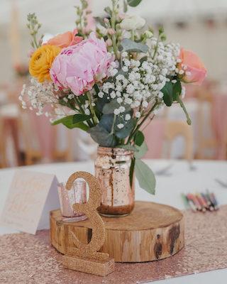 Hochzeitstrend Metallic, Hochzeit Rosegold