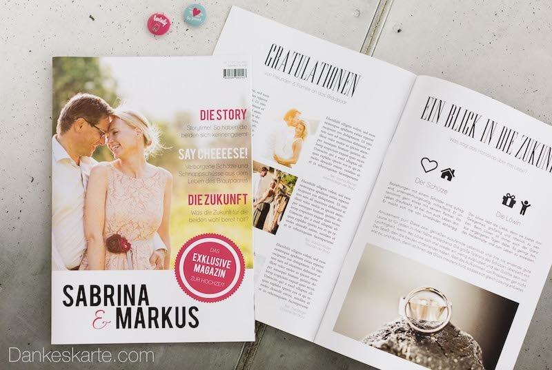 Schreiben hochzeitszeitung beitrag für Hochzeitszeitung beiträge