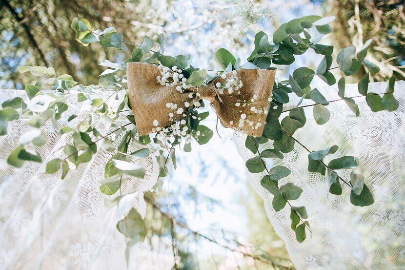 grüne Hochzeitsdeko, DIY Hochzeitsdeko