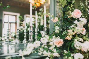 grüne Hochzeitsdeko, grüne Tischdeko, Tischdeko Hochzeit
