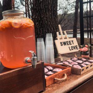 Sweet Table Muffins für Hochzeit