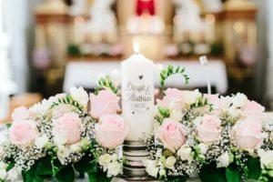 Hochzeitskerze individuell