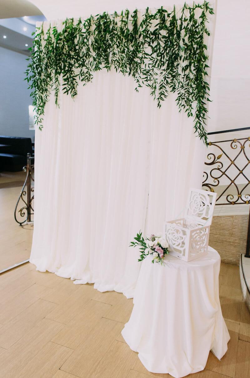 Blumenwand, Hochzeitsbogen